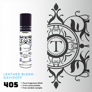 Leather Blend | Fragrance Oil - Him - 405