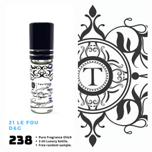 Load image into Gallery viewer, 21 Le Fou - Dolce & Gabbana - Him - Talisman Perfume Oils®