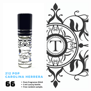 212 Pop - CH - Him - Talisman Perfume Oils®