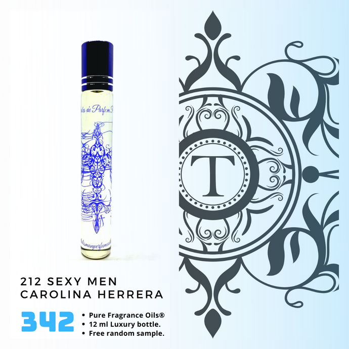 212 Sexy Men - CH - Him - Talisman Perfume Oils®