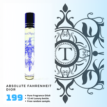 Load image into Gallery viewer, Absolute Fahrenheit - Dior - Him - Talisman Perfume Oils®