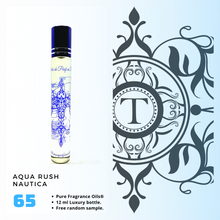 Load image into Gallery viewer, Aqua Rush - Nautica - Him - Talisman Perfume Oils®