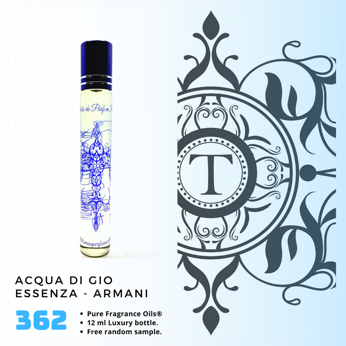 Acqua di Gio Essenza | Fragrance Oil - Him - 362 - Talisman Perfume Oils®