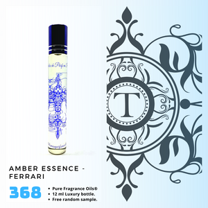 Amber Essence - Ferrari | Fragrance Oil - Him - 368