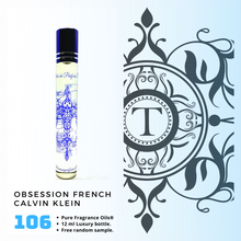 Load image into Gallery viewer, CK Obsession French Inspired | Fragrance Oil - Him - 106