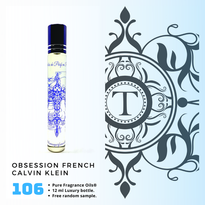 CK Obsession French Inspired | Fragrance Oil - Him - 106