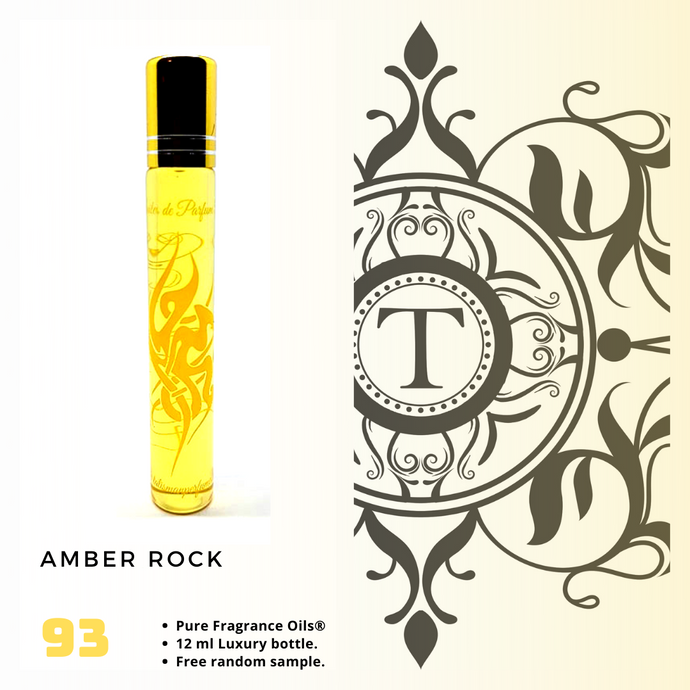 Amber Rock | Fragrance Oil - Unisex - 93 - Talisman Perfume Oils®