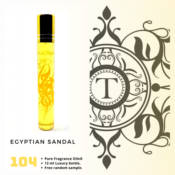Egyptian Sandal | Fragrance Oil - Unisex - 104 - Talisman Perfume Oils®