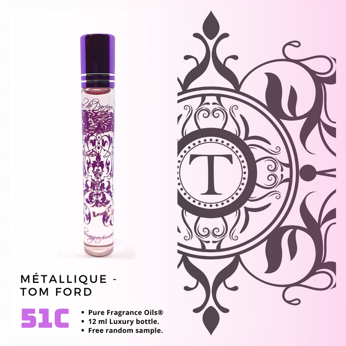 Métallique | Fragrance Oil - Her - 51C