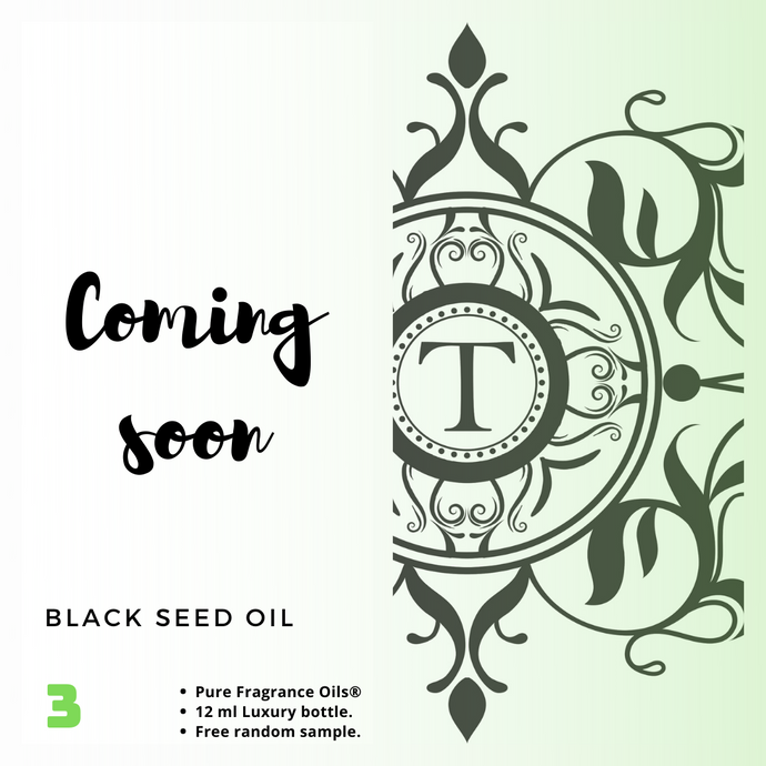 Black Seed Oil - Talisman Perfume Oils®