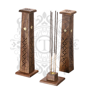 Square Tower Incense Holder
