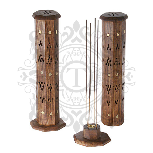 Octagonal Tower Incense Holder
