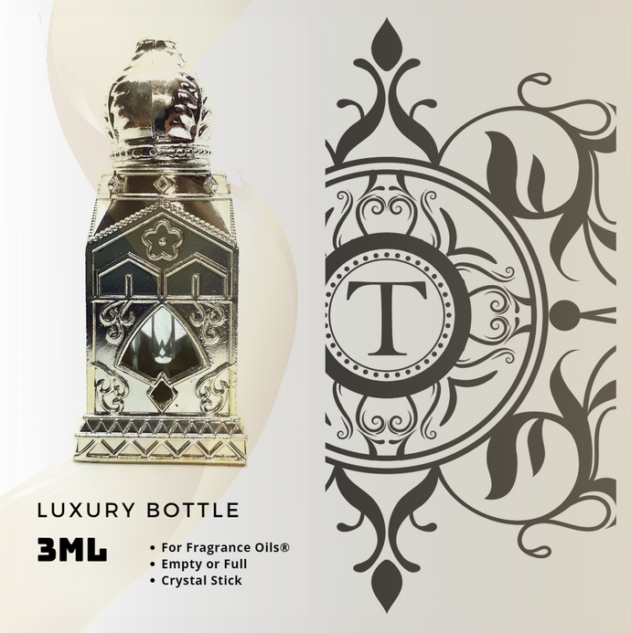 Royal Luxury Bottle ( R46 ) - Crystal Stick - 3ML - Talisman Perfume Oils®