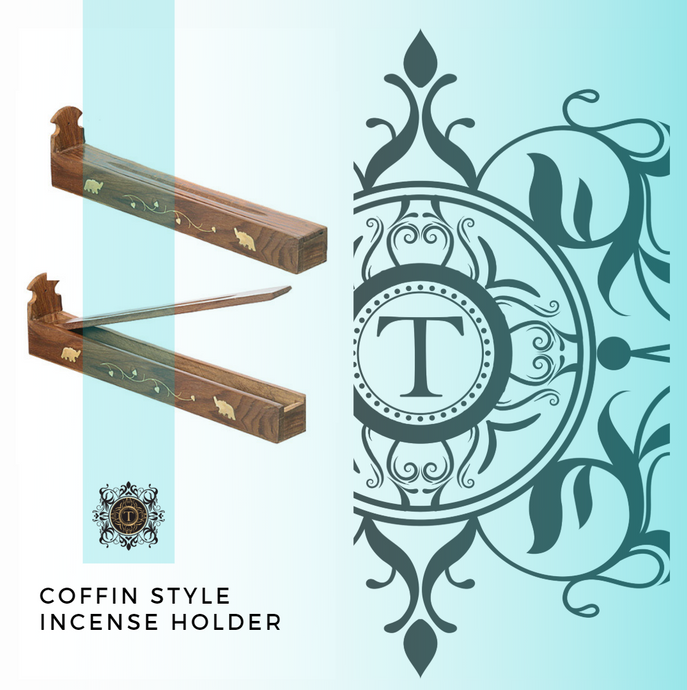 Coffin Style - Incense Holder