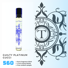 Load image into Gallery viewer, Guilty Platinum Inspired | Fragrance Oil - Him - 560 - Talisman Perfume Oils®