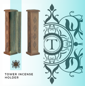 Tower Incense Holder - Oriental Style - Talisman Perfume Oils®