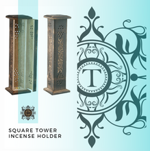Load image into Gallery viewer, Square Incense Tower - Antique Style