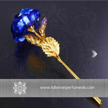 Load image into Gallery viewer, 24K Gold Roses | Blue