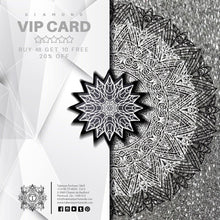 Load image into Gallery viewer, DIAMOND VIP CARD - BUY 48 GET 10 FREE + 20% OFF