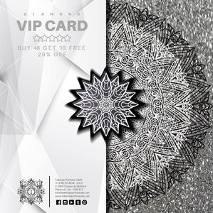 DIAMOND VIP CARD - BUY 48 GET 10 FREE + 20% OFF
