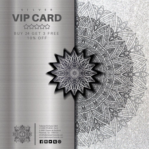 SILVER VIP CARD - BUY 24 GET 3 FREE + 10% OFF