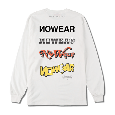 NW-TS-004 NOWEAR Multi Logo Long Sleeve T-shirts