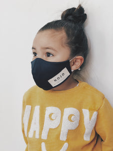 KIDS NAVY WRAP ROUND PREVENTION MASK