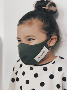 KIDS OLIVE WRAP ROUND PREVENTION MASK