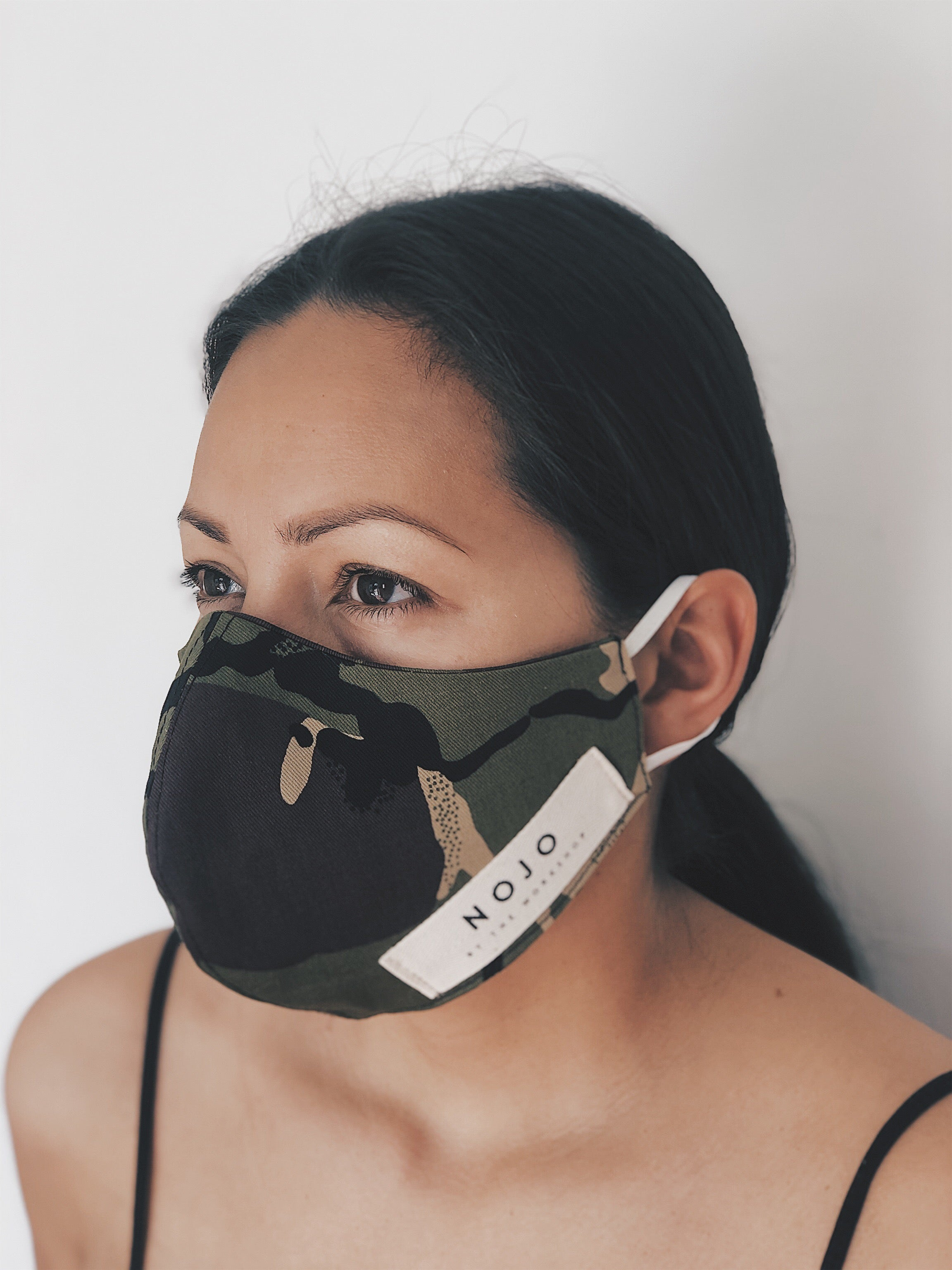 ADULT CAMO WRAP ROUND  MASK (UNISEX)