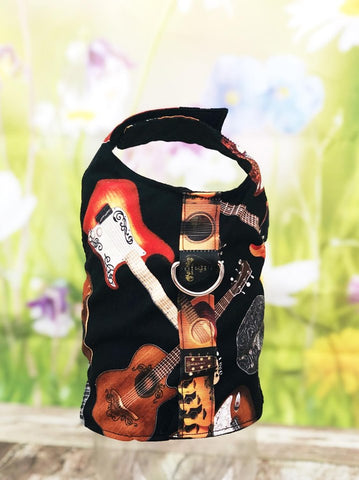 Dog Harness Vest Guitars  D Ring Harness