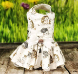 Dog Dress Harness baby Hedgehog Dress