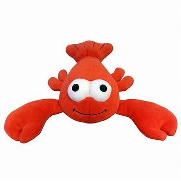 Lulubelles Power Plush Dog Toy - Lobster