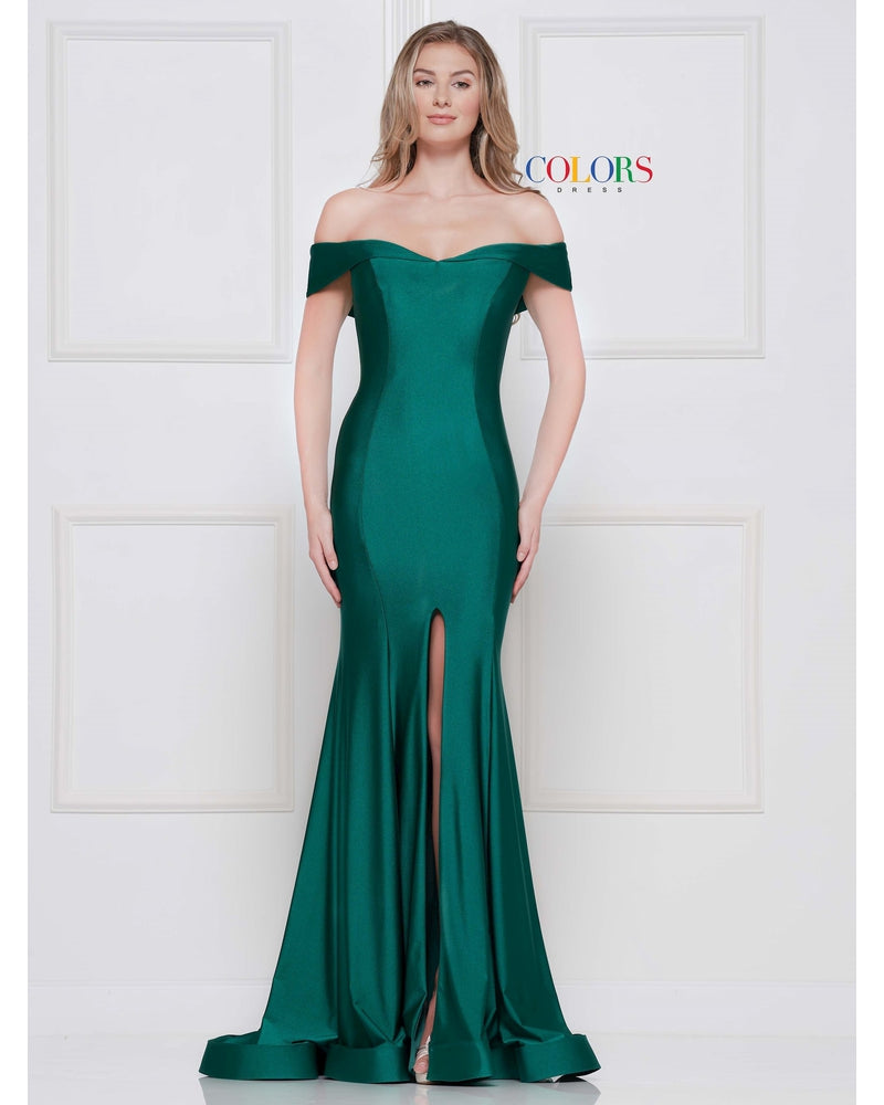 Emerald One Piece Lycra w/ Slit