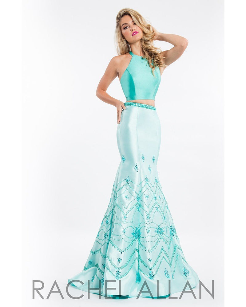 Jade Mint Two Piece Mikado Mermaid