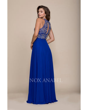 Royal Chiffon Long Dress