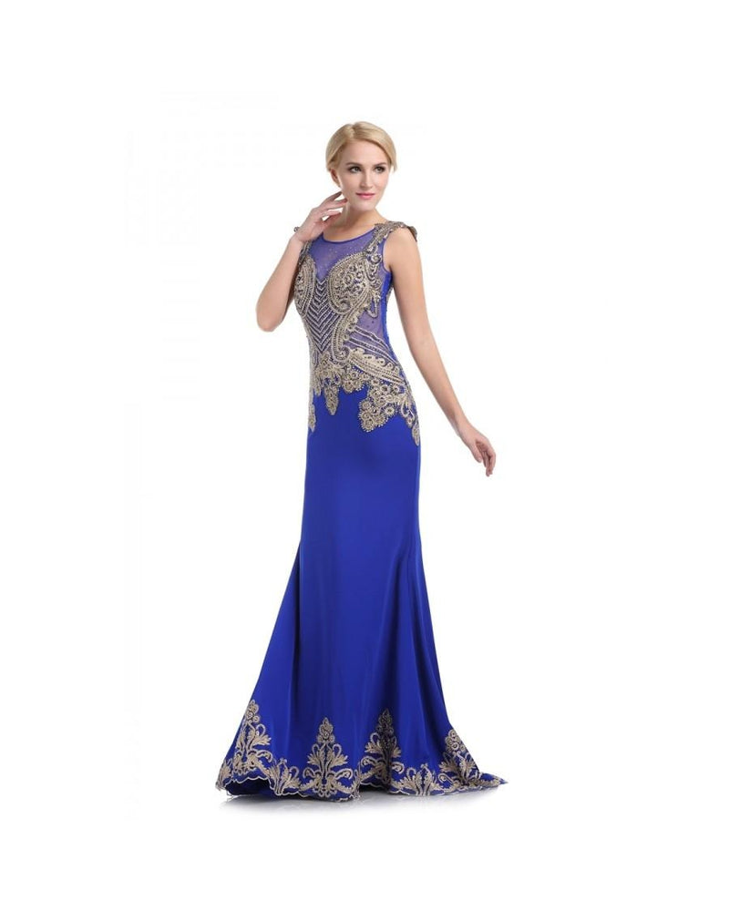 Royal Long Fitted Dress