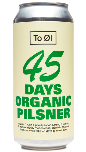 45 Days Organic Pilsner Can