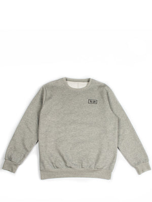 Sweater with logo embroidery
