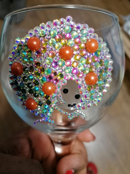 Bling Up Gin Glass