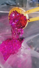 Load and play video in Gallery viewer, Perfectly Pink chunky glitter mix