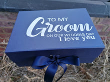 Load image into Gallery viewer, Grooms Proposal Keepsake Box