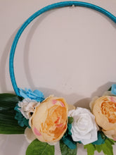 Load image into Gallery viewer, Blue Hoop Bouquet