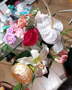 making of bouquet