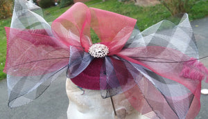 Crinoli Trim Headpiece Fascinator