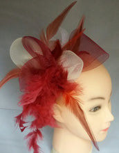 Load image into Gallery viewer, Crinoli two-tone Fascinator