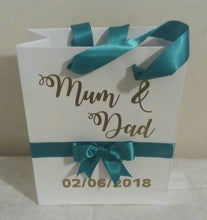 Load image into Gallery viewer, Personalised Wedding Gift Bag
