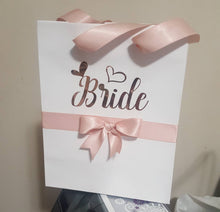 Load image into Gallery viewer, Rose Gold Gift Bag