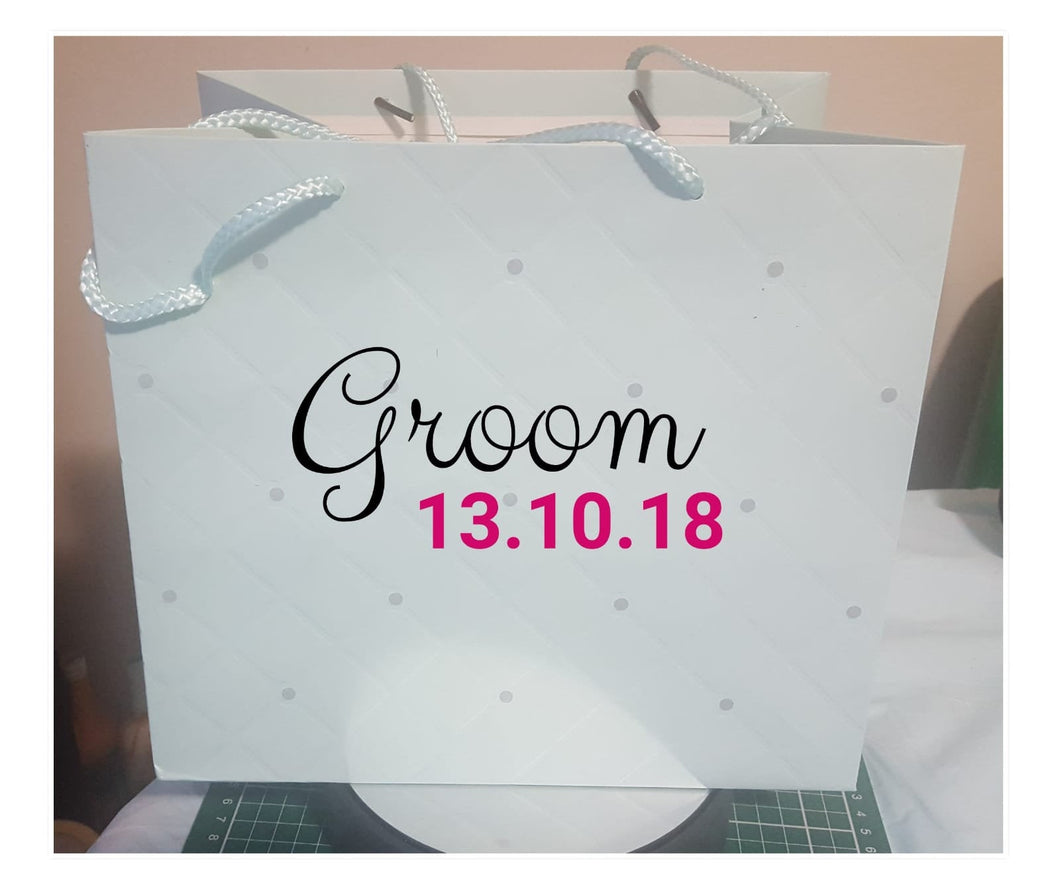 Groom Gift Bag