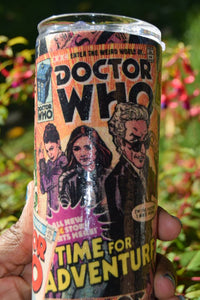 Dr Who Fabric 20oz Tumbler