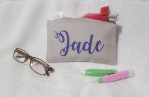 Personalised Make Up Purse